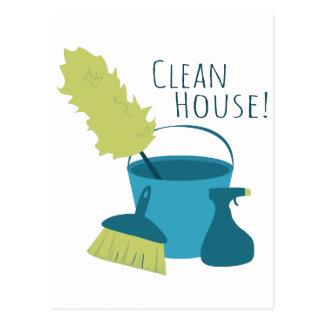 Clean House! Postcard