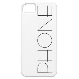 Clean Line Design PHONE iPhone Case