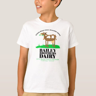 Clean Milk from Healthy Cows T-Shirt