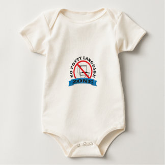 clean mouth judge baby bodysuit