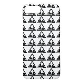 Clean N Simple Tri Logo Print iPhone 7 Case