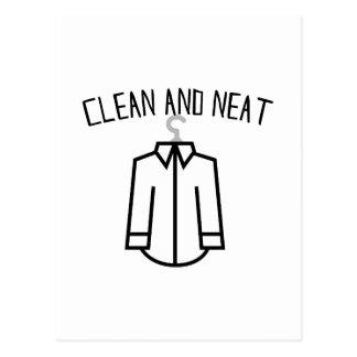 Clean & Neat Postcard