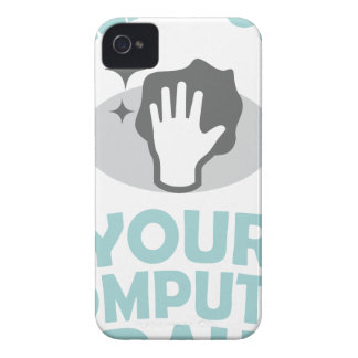 Clean Out Your Computer Day  - Appreciation Day iPhone 4 Cover