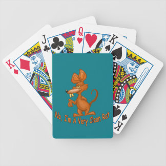 Clean Rat Bicycle Playing Cards