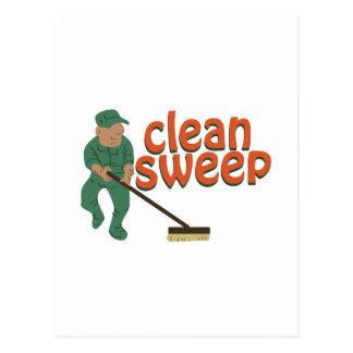 Clean Sweep Postcard