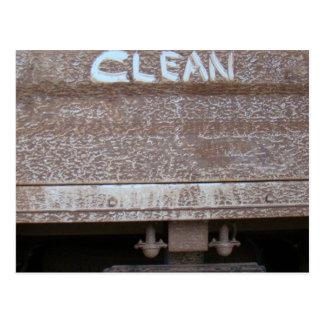 Clean 'Tailgate Talk' Postcard