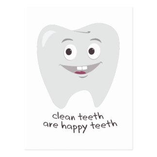 Clean Teeth Postcard