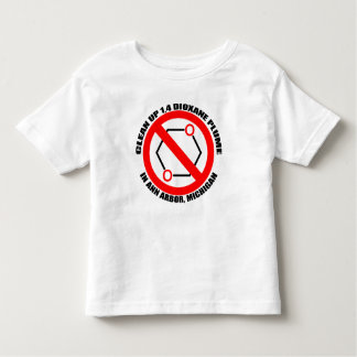 Clean up 1,4 Dioxane in Ann Arbor Toddler T-Shirt