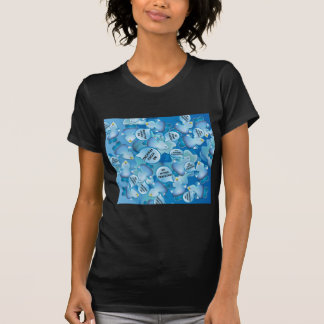 Clean Water Drops Call Out No Hydro-Fracking! T-Shirt