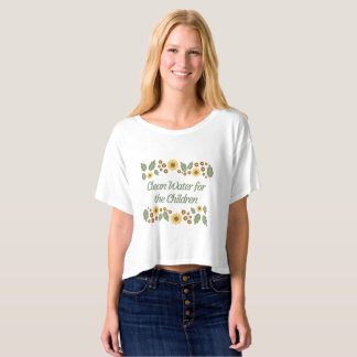 Clean Water For The Children T-Shirt