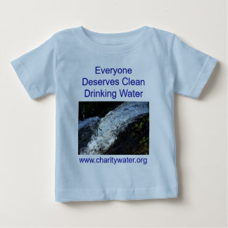 Clean Water infant shirt