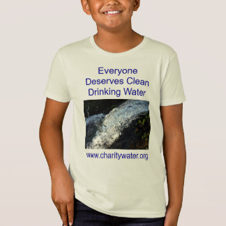 Clean Water kids shirt