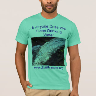 Clean Water mens shirt
