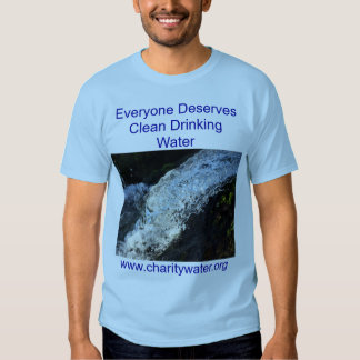 Clean Water mens shirt. Shirt