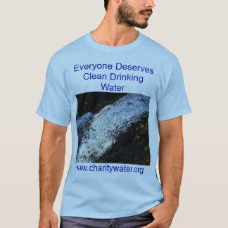 Clean Water mens shirt. T-Shirt