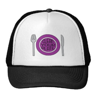 Clean Your Plate Trucker Hat