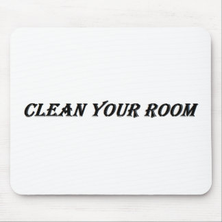 clean your room mouse pad