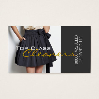 Cleaners Dry Cleaning Alteration Tailoring Business Card