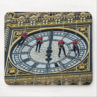 Cleaners on Big Ben London mousepad