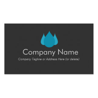 Cleaning & Plumbing Services Business Cards