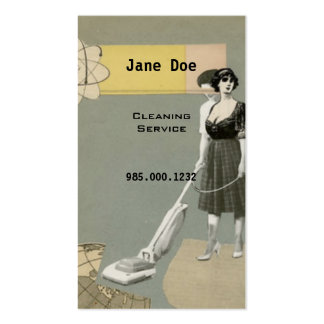 Cleaning Service Business Cards