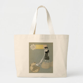 Cleaning Service Large Tote Bag