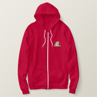 Cleaning Tooth Embroidered Hoodie