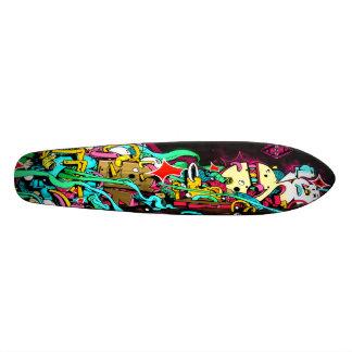 Cleanup On Aisle 5 Pleez - Graffiti Art Skate Deck