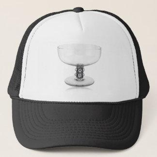 Clear Art Deco glass vase. Trucker Hat