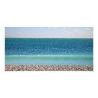 Clear Blue Sea photocard Photo Greeting Card