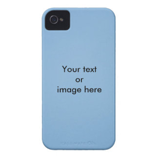 Clear blue sky photo template iPhone 4 covers