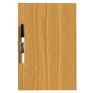 Clear brown wood background dry erase board