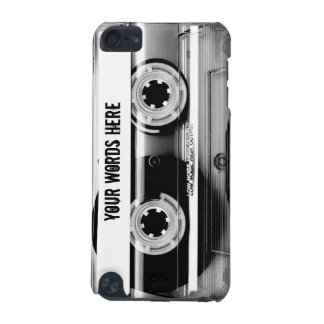 Clear Cassette Tape Personalized iPod Touch 5G Cover