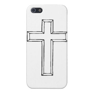 Clear Cross.gif Case For iPhone 5/5S