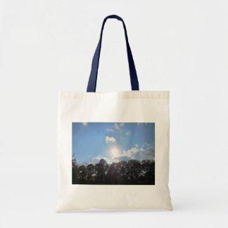 Clear Skies Budget Tote Bag
