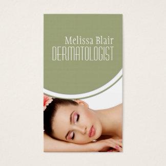 Clear Skin Dermatologist Facial Massage Spa Business Card