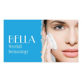 Clear Skin Dermatologist Facial Massage Spa Pack Of Standard Business Cards
