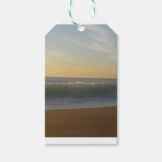clear summer wave gift tags
