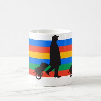 Clear the way coffee mug
