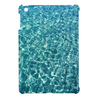 Clear Water Blue iPad Mini Cover