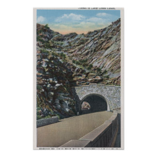 Clear Water Canyon, Colorado Print
