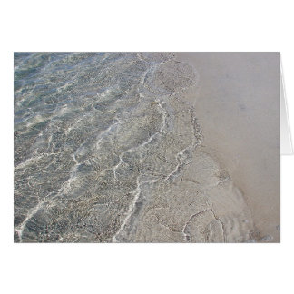 Clear waters card
