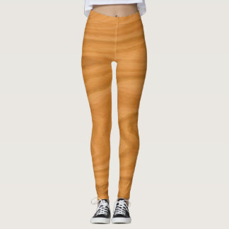 Clear wood leggings