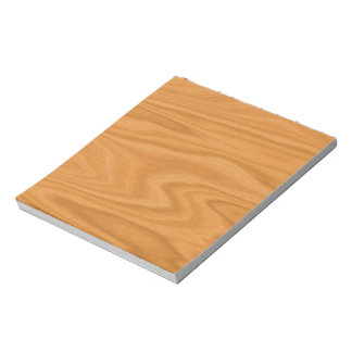 Clear wood notepad