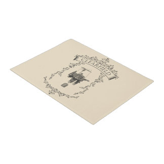 Clearfield - Antique Circular Sockknittingmachine Doormat
