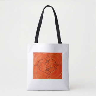 Clearing negative thoughts tote bag