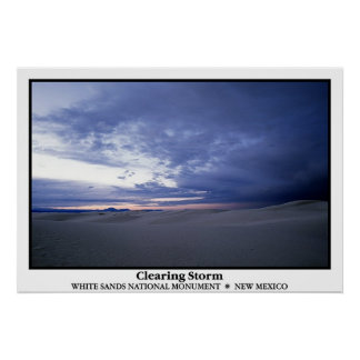 Clearing Storm Poster