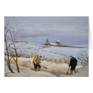 Clearing the Snow Card
