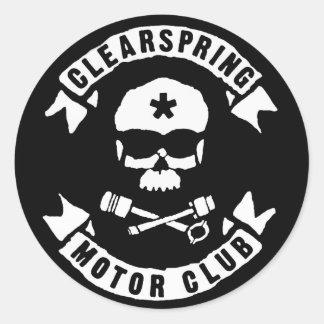 Clearspring Motor Club Sticker #1-1