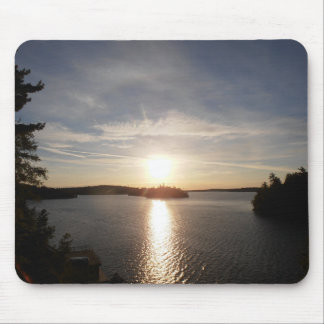 Clearwater Bay Sunrise Mouse Pad